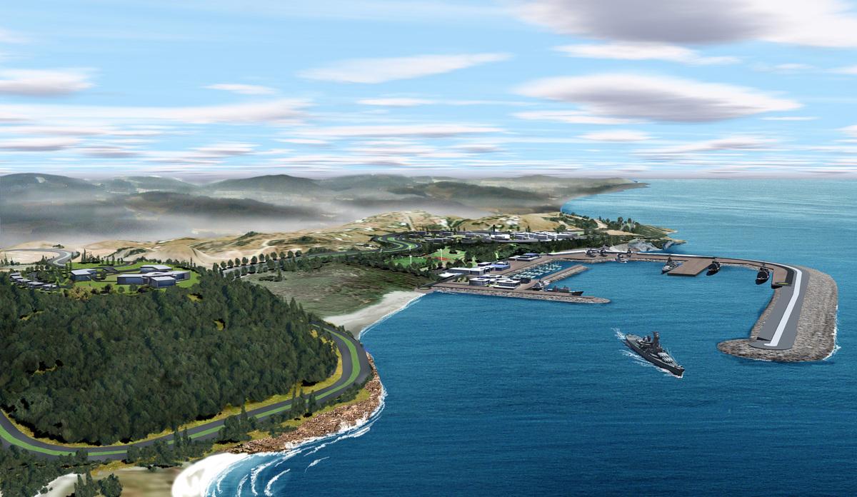 5éme Base Navale : La Nouvelle Base Navale de Ksar Sghir - Page 12 Base-navale-2