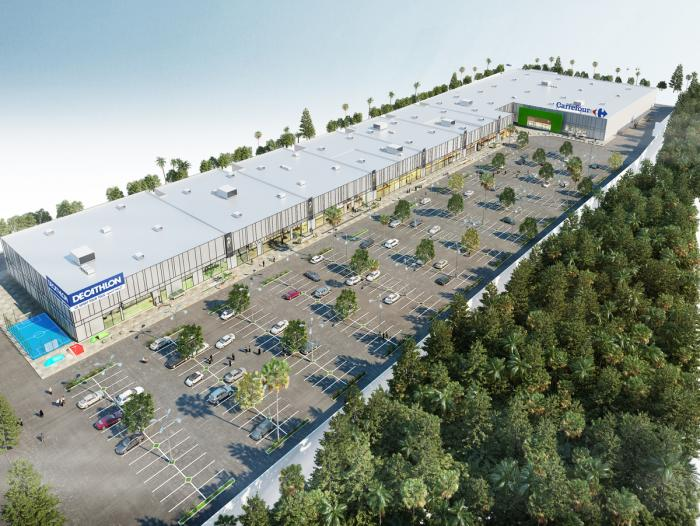 Retail Park TEMARA